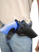 Barsony Cross Draw Owb Gun Holster For 38 357 41 44 Astra, Beretta 4 Revolvers