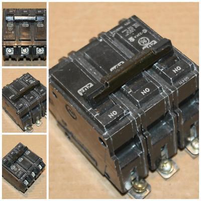 GE THHQB THHQB32020 20 Amp 3 Pole Circuit Breaker 22KA New Style