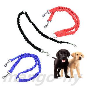 2-Way-Coupler-Double-Dog-Walking-Leash-Elastic-Bungee-Twin-Dog-Leads-Splitter