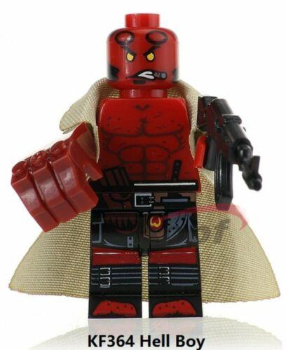 Mini Figurine Marvel Hellboy KF364 Blocs Minifigure No Lego Jouet Enfant Jeu