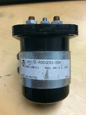 White-Rodgers//RBM Coil 48v DC Industrial Relay 586-120111 Solenoid