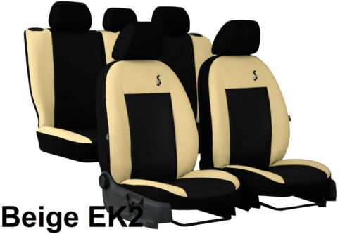 TOYOTA AVENSIS Mk3 ESTATE 2015 2016 2017 2018 ECO LEATHER TAILORED SEAT COVERS
