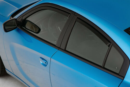 11-19 Charger GTS Smoke Snap In Channel Side Window Deflectors Visors 4pc 85177