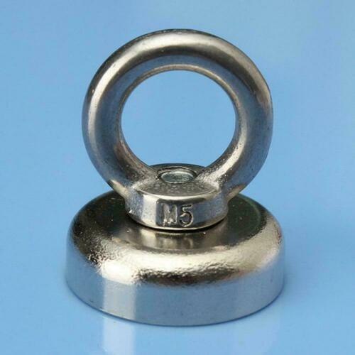 Magnetic Pots Ring Fishing Gear Neodymium Permanent deep sea salvage magnet New