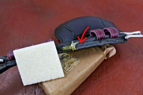Klebstoffradierer Radierer für Leder Klebstoffentferner schonend