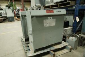 45KVA 600V to 208V/120V Dry Isolation Multi-Tap Transformer Canada Preview