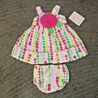 Bonnie Baby Baby Girls 2 Piece Outfit - Size 18 Months -