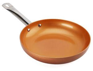 Non Stick Copper Titanium Steel Frying Pan 9 5 Quot Ceramic