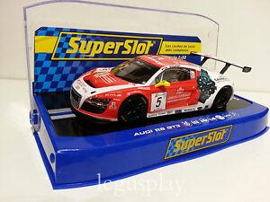 Slot-Scx-Scalextric-Superslot-H3516-Audi-R8-GT3-N-5-Fia-Gt-Series-2013-Phoenix