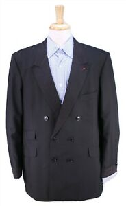 Personnalise-sur-Mesure-Par-George-Worn-By-Jerry-Lewis-Noir-Smoking-Veste-Blazer