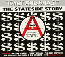 Twist & Shout Stateside Story 1962 2-CD NEW SEALED Four Seasons/Shirelles/Dion+