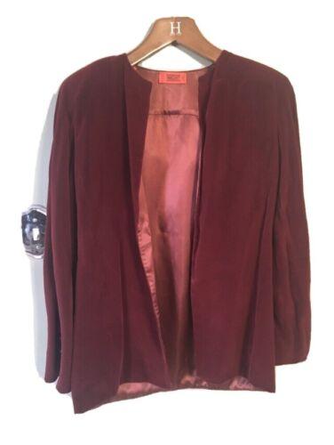 ❤️ Valentino Night Velvet Boutique Silk Lining Bla