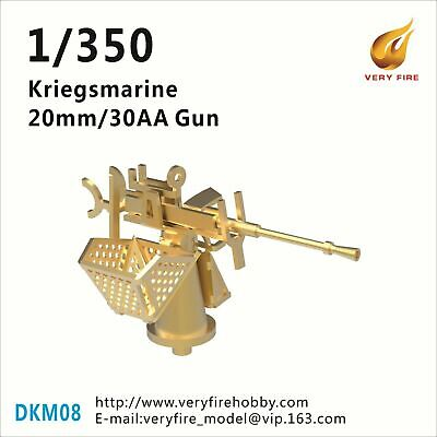 22 sets Very Fire 1//350 German Navy Deck Winch and Windlass 2 Types