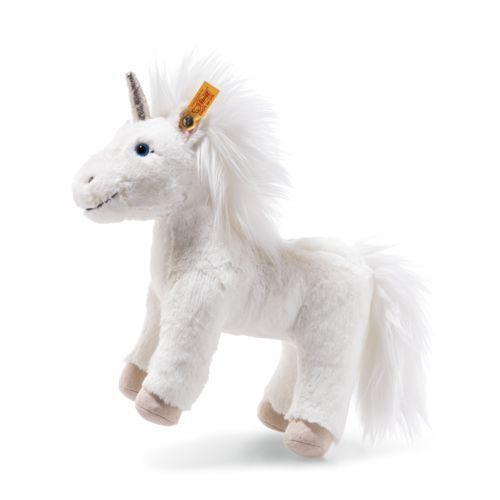 STEIFF Unica Unicorn EAN 087783 25cm White Plush soft toy gift New