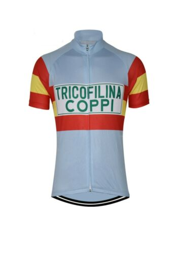 Brand New  Team Tricofilina Coppi Cycling Jersey