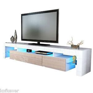 Mobile porta tv moderno soggiorno 14 colori lucidi bianco nero mobili design tv ebay - Mobile porta tv moderno design ...