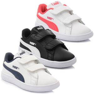 Scarpe-Puma-Smash-V2-L-V-Ps-Scarpe-Bambino-Sneaker-Scarpe-da-Ginnastica-27-35