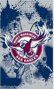 NRL Manly Sea Eagles Game Day Supporter Cape Flag Wall Flag