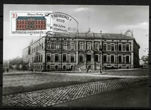 GDR-Mk-Maximum-Card-With-Minr-3067-Historical-post-Office-Building-Freiberg-1987
