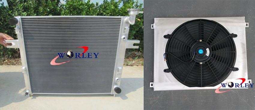 Fan for JEEP GRAND CHEROKEE WJ//WG 4.7L V8 1999-2005 Aluminum Radiator Shroud