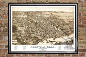 Vintage-Knoxville-TN-Map-1886-Historic-Tennessee-Art-Old-Victorian-Industrial