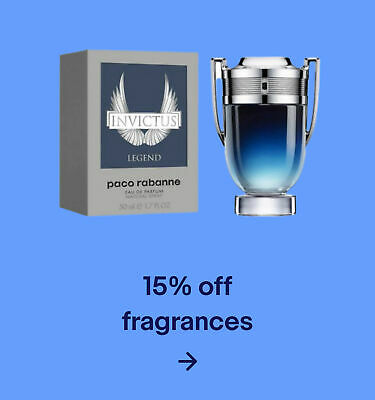 15% off fragrances