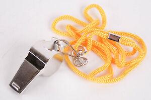 sunflex-Trillerpfeife-Pfeife-aus-Metall-inklusive-Halsband-Gelb