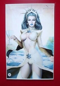 MEGURO-ART-PRINT-Grimm-Fairy-Tales-Dance-of-the-Dead-3-NEW-11x17-Zenescope