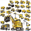 XINGBAO13002-Building-Bricks-Giant-Excavator-Changeable-Toys-Gifts-800-PCS-8in1 thumbnail 2