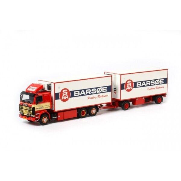 WSI07-1012 - Porteur SCANIA R143 6x2 avec remorque 2 essieux   - 1 50