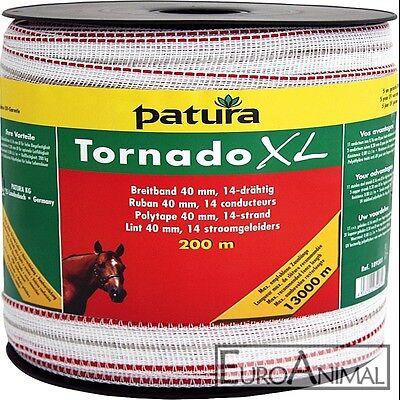 Patura Tornado XL Weidezaunband 40mm 200m Zäune -13000m