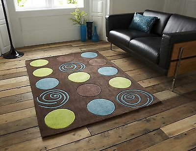 SMALL EXTRA LARGE TRENDY ART FUNKY MODERN THICK PILE VIBRANT COLOURFUL SOFT RUGS
