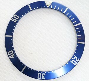 BEZEL-INSERT-FITS-OMEGA-SEAMASTER-WATCH-BLUE-PART-GENERIC-DIAL-REPAIRS-PART-2551