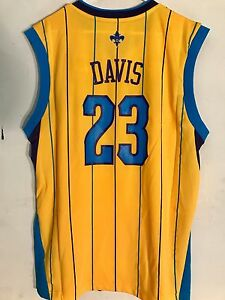 e9b3c8192 Image is loading Adidas-NBA-Jersey-New-Orleans-Hornets-Anthony-Davis-
