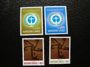 United-Nations-Geneve-Stamp-yt-N-25-26-28-29-N-A14-United-Nations-A