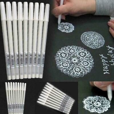 der Zeichnungs-Malerei-Werkzeug-Stifte W0T7 T8O2 Weiß Gel-Tintenstift-Künstler