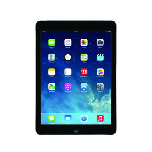 R Apple iPad Air 1st Gen 16GB Space Gray AT/&T Cellular Wi-Fi 9.7in