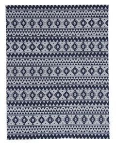 Home Décor Rugs & Carpets Teppich Rund Azteken Muster Aztec Design Scandi Raute Blau Schwarz Rosa Braun