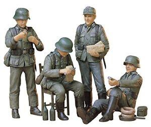 Tamiya-1-35-Military-Miniature-Series-No-129-German-infantry-rest-set-plastic-mo