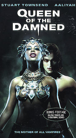 1 of 1 - The Queen of the Damned (VHS, 2002, Contains Nine Minutes of Additional Footage)