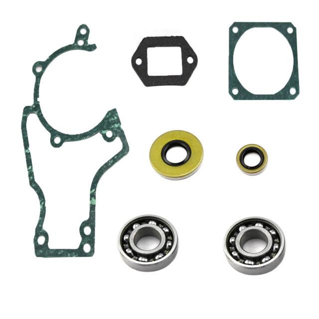Subalmacén para cigüeñal para Stihl 038 Av super magnum ms380 crankshaft bearing