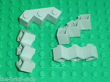 LEGO OldGray brick facet ref 2462 /sets 4483 6081 6278 6292 6079 6273 6077 6748