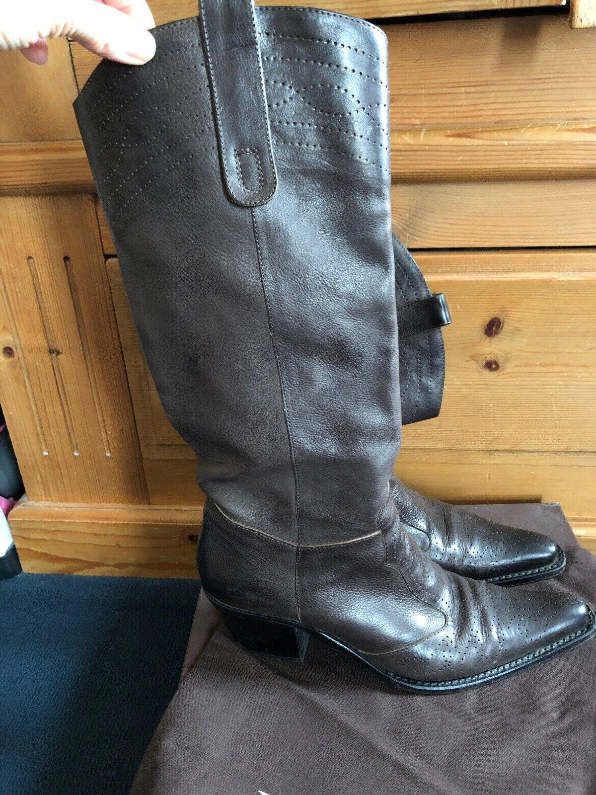 Ladies Lena Milos Boots Size 38 ( In Box )