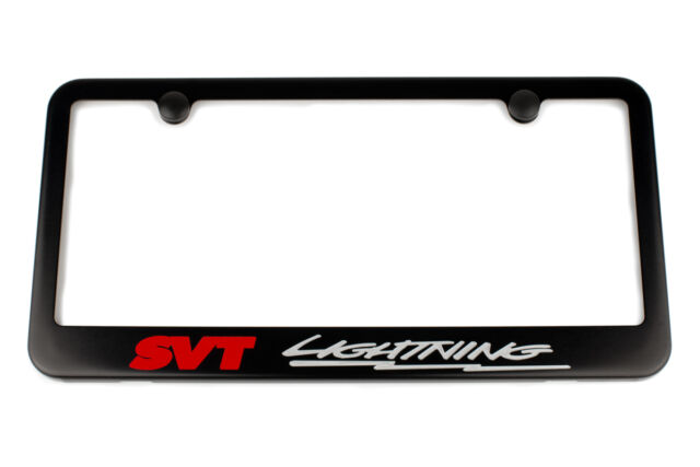 Ford SVT Lightning License Plate Frame