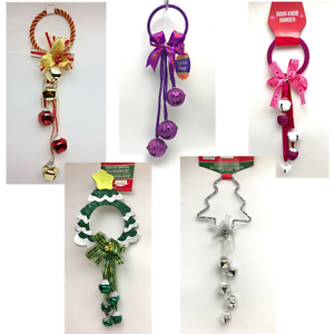 Door-Knob-Wreaths-Handle-Hanger-12-inch-Party-Novelty-Christmas-Halloween-New