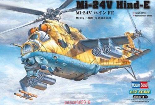 Hobbyboss 1/72 87220 Mi-24V Hind-E Model Kit