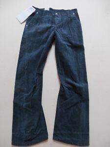 Levi-039-s-Jeans-006-Damen-Engineered-Cord-Hose-W-30-L-32-blau-NEU-Breitcord