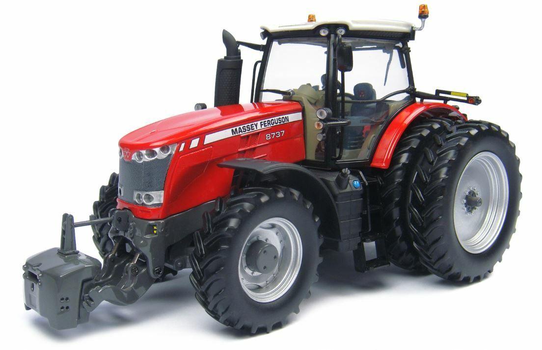 Massey Ferguson 8737 Tractor w Duals 1 32 Die-Cast Universal Hobbies UH4261