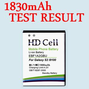1800mAh HD Cell battery Samsung Galaxy S2 GT-i9100 i9103 i9508 / EB-F1A2GBU