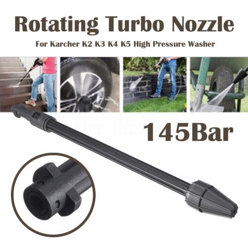 140bar Rotary Turbo Nozzle Plastic For Karcher K2 K3 K4 K5 K6 K7 High Pressure